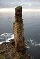 Kai Green and Duncan Skelton on the Old Man of Hoy in the Orkney Islands.
